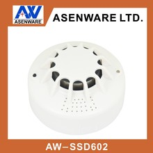 Fire Alarm Usage Independent Smoke Detector with Build-in Battery