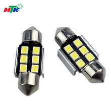High quality 31mm 2835 6SMD 24-26LM Canbus festoon led lights