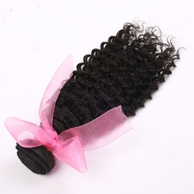 8-30 inch top grade Deep Curly Indian human hair weave, hair extension, hair extension bundles