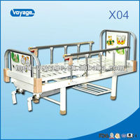 X04 Double Crank Manual hospital infant bed