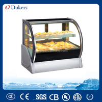 Dukers countertop pastry display,bakery disply cabinet,cake cooler