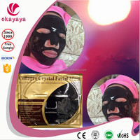 Best Selling Silk Collagen Mask High Quality Collagen Mask 2015 Best 24k Gold Collagen Crystal Facial Mask