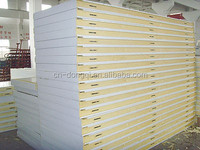Low price High insulated/cold room 100mm PU sandwich panels for roof & wall