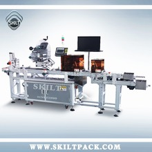 Hang Tag/paper/bag/card paging&labeling machine