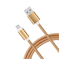 Top Sales Nylon Braided Micro USB Charging Data Cable Phone Cords for Android Phones