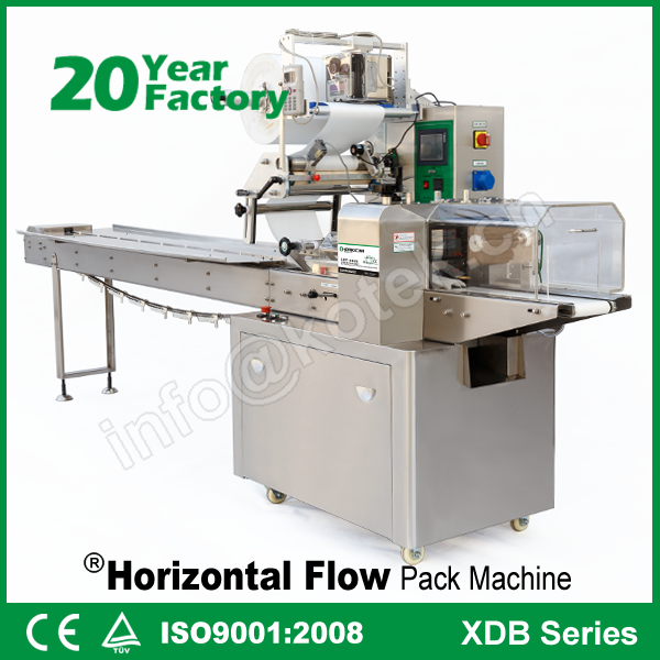 Plastic Film Pillow Package Cornetti Wrapper Horizontal Flow Elicoidali Wrap Equipment Noodle Full Automatic Wrapping Machine