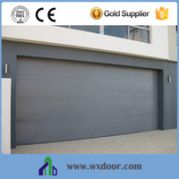 Galvanized Steel Sectional Garage Door Modern Design with Customized Service
