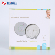 white card corrugated colorful printing paper box