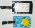 Legendary PVC tag for bag and luggage