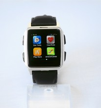 The best smart watch mobile phone on the whole market 3G WCDMA gps tracker wrist watch phone android