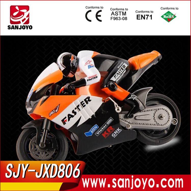JXD 806 1/16 4CH 2.4G RC Racing Motorcycle for Sale SJY-JXD-806