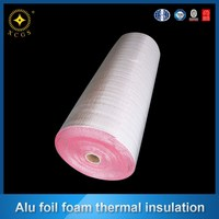 foil faced closed cell physically crosslinked polyolefin foam insulation