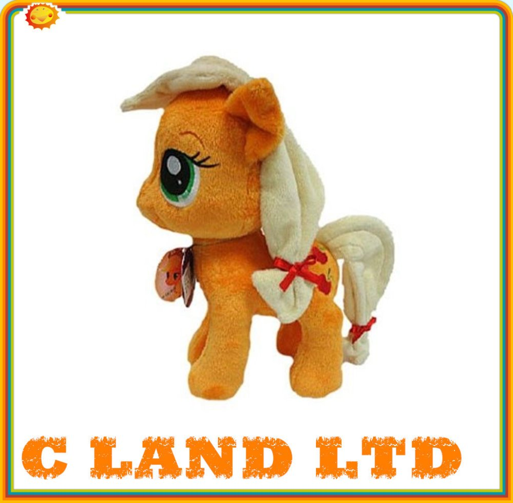 girls cartoon horse toys with hair