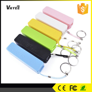 Ring power bank 2600mah,cute minion battery charger