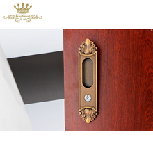 China manufacture wholesale cheap durable wood sliding door key lock