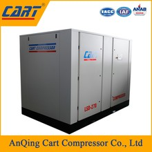 30kw 40hp direct driven oil lubricated screw air compressor for pneumatic manipulator