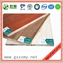 Chinese fir wood core paint-free melamine faced furniture decoration1220*2440 ecological wood board
