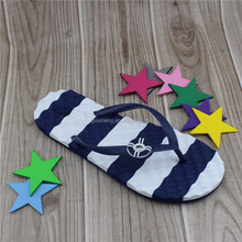 China Nude Design Eva Sole Girls Summer Beach Pvc Slipper Flip Flops Wholesale