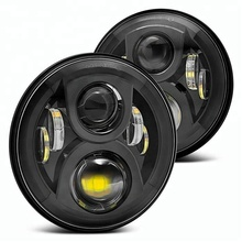 High power 7 inch lands rover defender led light car auto parts, led head lights 60w led work light
