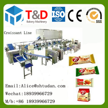 Mini Bakery plant--HYMJ-300 Full set croissant equipment small capacity croissant plant /small scale croissant production line