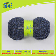 2015 online shop china bulk sales super chunky wool acrylic alpaca yarn blended for scarves