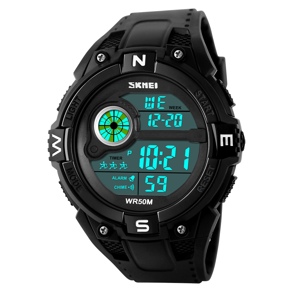 best selling products 2017 in usa skmei #1279 fashional men's sports LCD digital watch