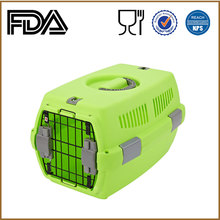 SGS wholesale pet products Plastic air approved Dog kennel