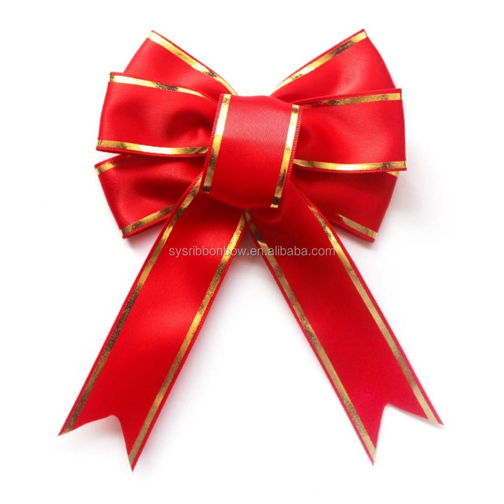Mini bow ties satin ribbon buy