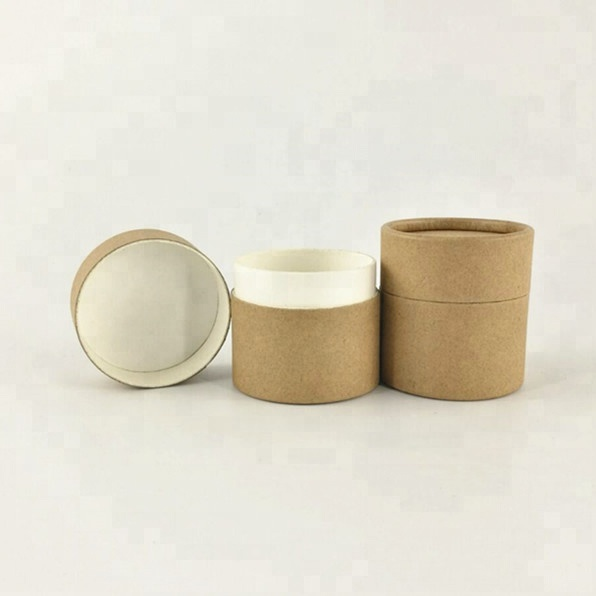 Eco-friendly cosmetic paper <strong>tube</strong> for face cream jars