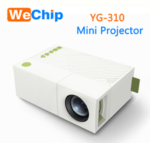 China New UPpdated Version Built in Battery full HD mini pocket Beamer led 3d YG300 YG 310 LCD projector
