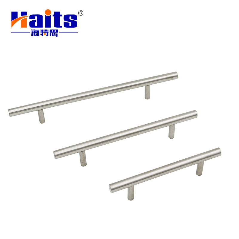 T shaped stainless steel 12mm Solid Steel T Bar Cabinet Handle