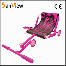 three wheel riding scooter twist car wave roller with LED wheels