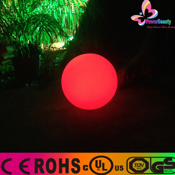 2016 New products lighting up remote control moon swimming pool led mood light ball for bar
