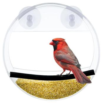 Custom Acrylic Clear Jagunda/Grossbeak/Tanager Bird Feeder