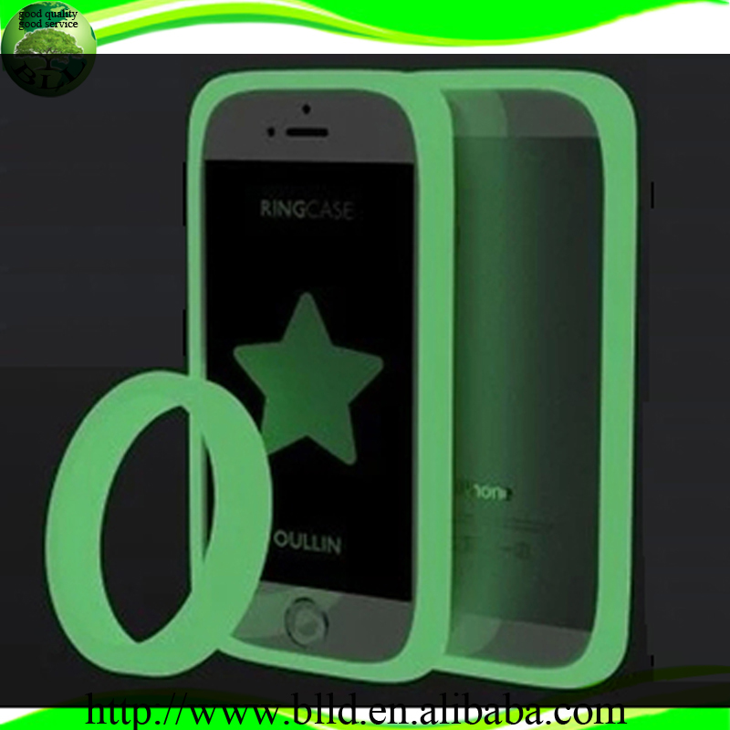 Hot selling Luminous night lights custom cheap universal mobile phone cases, cute 3d universal silicone cell phone cases