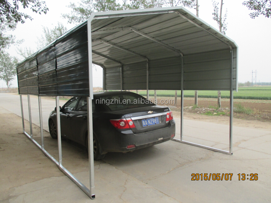 Home metal carport kit metal carport shed carport canpony for Mobile home garage kits