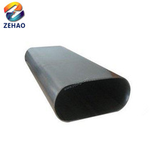 Erw Different Types/size Of Factory Price Oval Galvanized Steel Pipe/tube A53