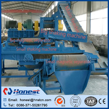 Full automatic waste tyre disposal and recycling plant/tire rubber crumb recycling machine for sale