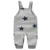 2017 Wholesale children boutique clothing 100% cotton baby suspenders jumpsuit bulk from Guangzhou garment factory
