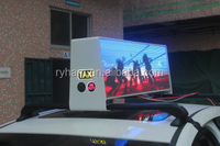 p4 xxx video china taxi top led moving message display