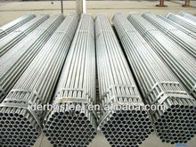 galvanized steel pipe post and rail fencing pipe