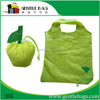 Nylon Foldable Bag with Strap and Snap to Keep Rolled