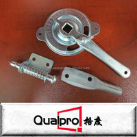 "3/8"" Galvanized Steel Air Regulators/Damper Quadrant with mini Lock REG5321"