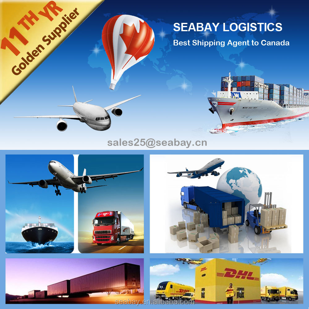 Air/Sea Shipping Agent from China to Vancouver/Prince Rubert/Toronto/Montreal