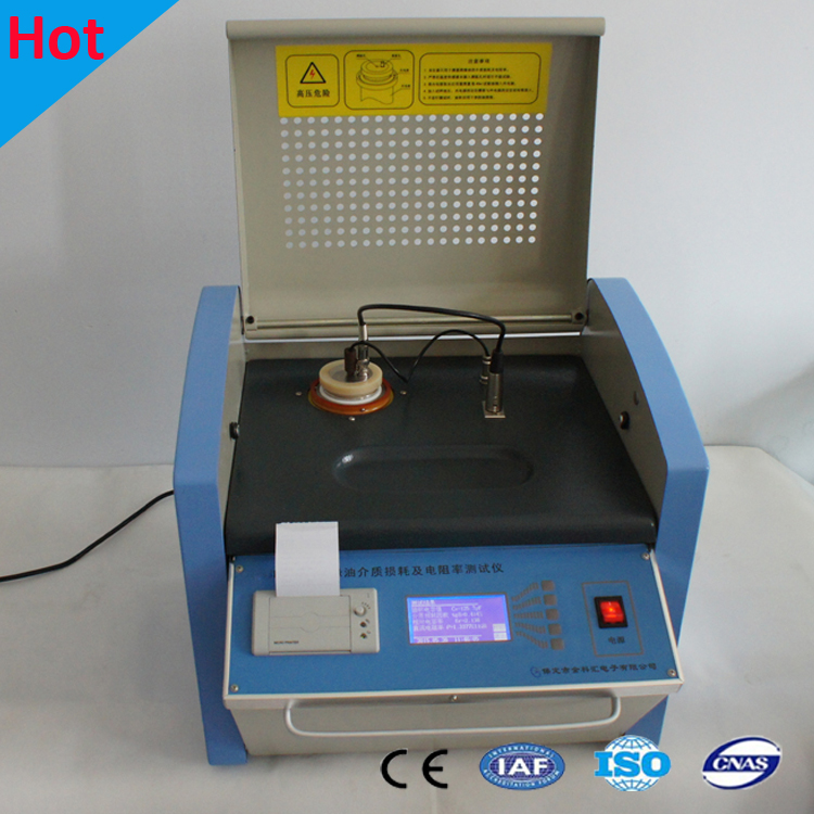 Transformer Oil Dielectric Loss Tester / Tan Delta Tester