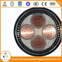 Low voltage 185mm 240mm xlpe insualted copper armoured cable