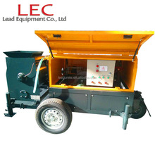 CLC block machine foam concrete mixer and pump