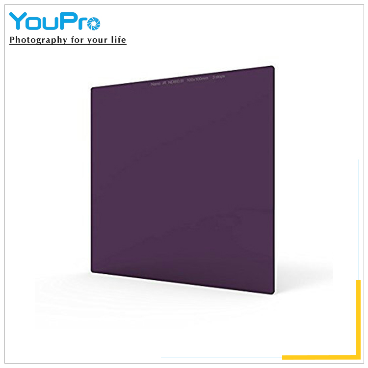 Square Neutral Optical Glass 100X100mm Density Filter with Lee Cokin Hitech Singh-Ray