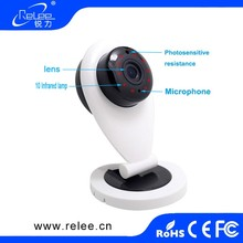 Home Smart IP Camera WIFI HD IR SD Card Slot 128G Wireless IP Camera 720P P2P For Android iOS PC Mini Baby Monitor