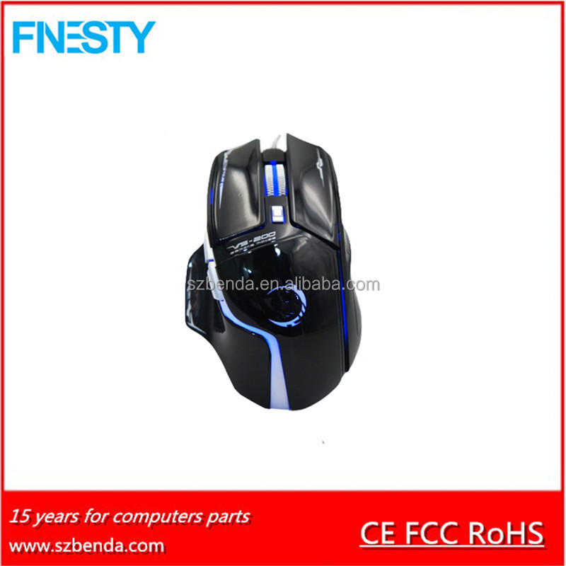 2017 Newest 6D Optical USB Gaming Mouse With Drivers